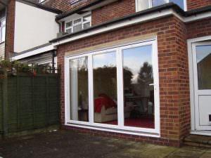 Aluminium bi-folding door prices